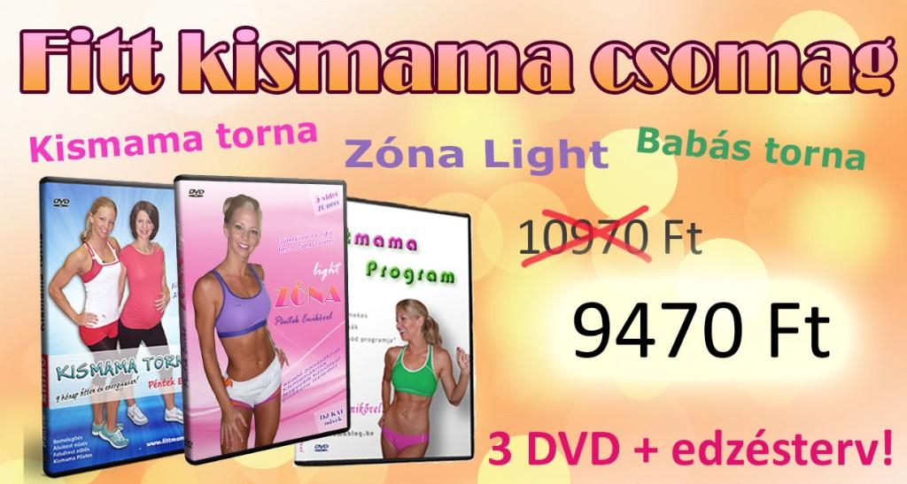 kismama dvd